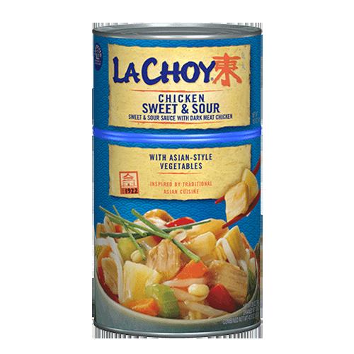 sweet  sour chicken  la choy